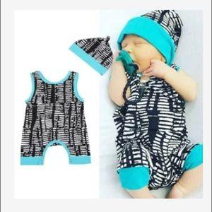 NWOT🔥 Baby Boy Romper Set